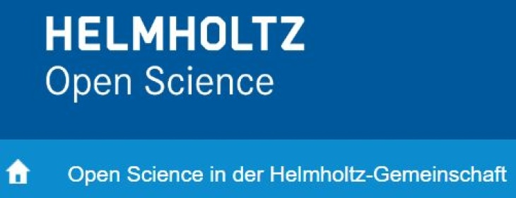 Logo Helmholtz Open Science schmal
