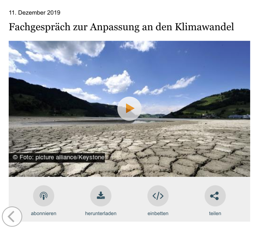 Screenshot Video Bundestag Fachgespraech Anpassung