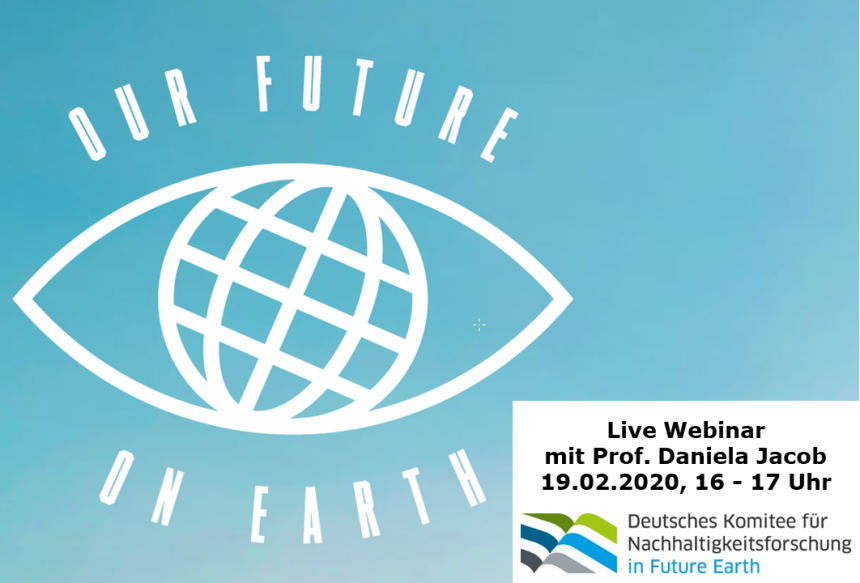Logo Webinar Our Future on Earth