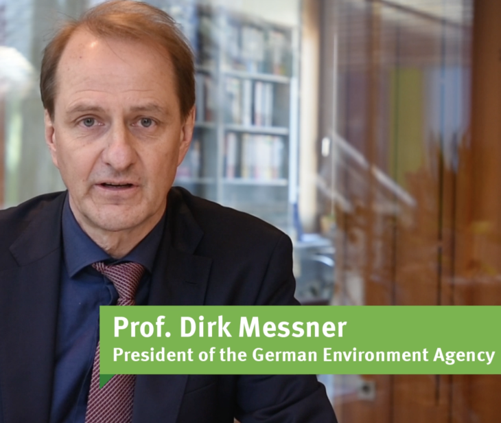 Screenshot Dirk Messner Video Our Future on Earth 2020