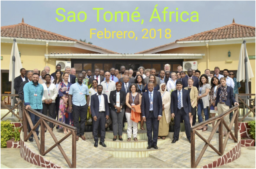 Gruppenfoto Meeting Sao Tome